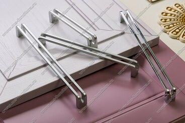 Ручка-скоба 192 мм матовый хром 5625-03 4