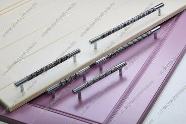Ручка-рейлинг 192 мм хром+черный 14.258-011 4
