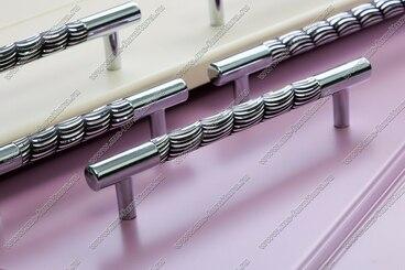 Ручка-рейлинг 128 мм хром+черный 14.256-011 6