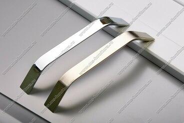 Ручка-скоба 192 мм полированный никель 301-192-v-02 4