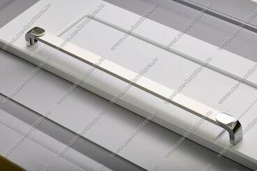 Ручка-рейлинг 192 мм алюминий+хром 14.356 6