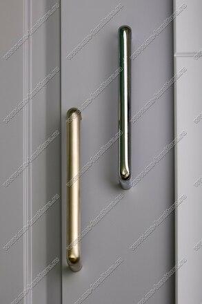 Ручка-скоба 160 мм полированный никель 324-160-000-02 5