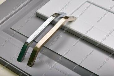 Ручка-скоба 224 мм полированный никель 308-224-000-02 5