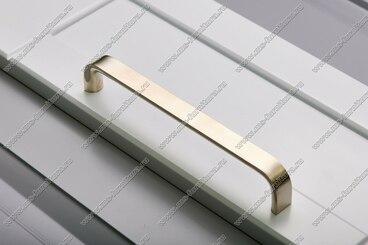 Ручка-скоба 224 мм полированный никель 315-224-000-02 4