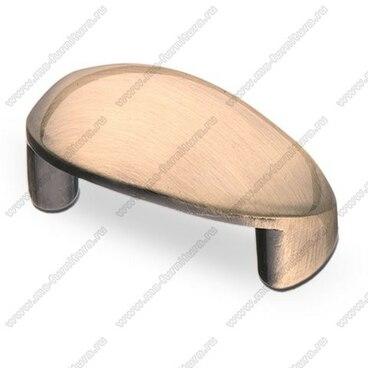 Ручка-кнопка 32 мм бронза S-2010 BA 1
