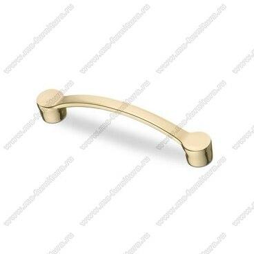 Ручка-скоба 96 мм золото S-2080 OT 1