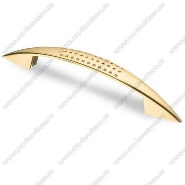 Ручка-скоба 96 мм золото S-2130 OT 1