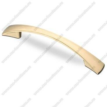 Ручка-скоба 128 мм золото S-2211 OT 1