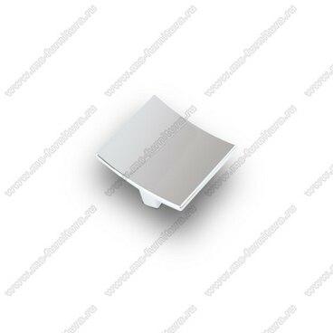 Ручка-кнопка 32 мм матовый хром S-2280 SC 1