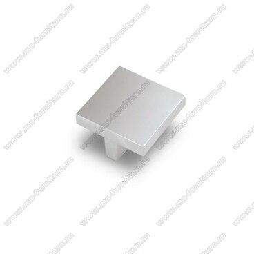 Ручка-кнопка 32 мм матовый хром S-2290 SC 1