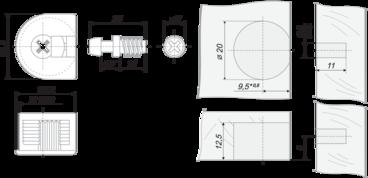 Стяжка B-fix ST01/49/3/Br/01 BOYARD 2