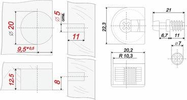 Стяжка B-fix ST01/49/3/W/01 BOYARD 2