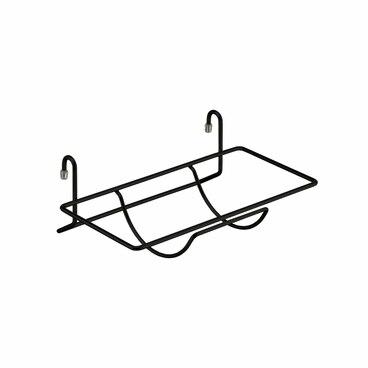 Полка для бумажного полотенца матовый черный YJ-G217 BL 1