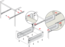 Метабокс 86х270мм белый MB08601W/270 5