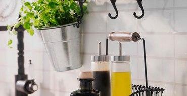 Кухонные рейлинги в матовом черном цвете!