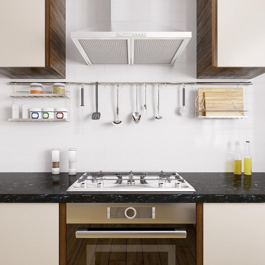 Рейлинговая система для кухни