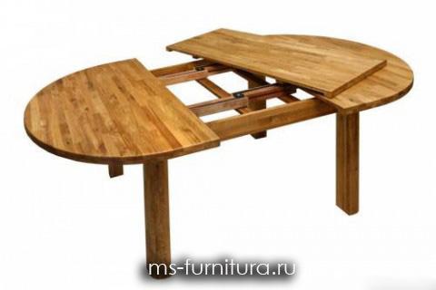 Кухонный овальный стол своими руками