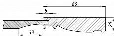 Схема фасада Олимпия
