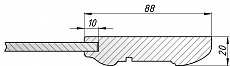 Схема фасада Виктория