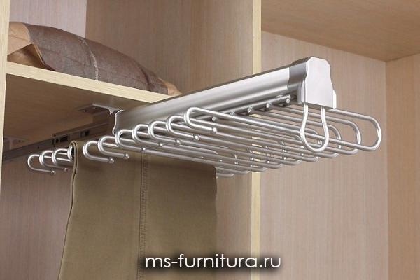 Выдвижные вешалки для шкафов купить